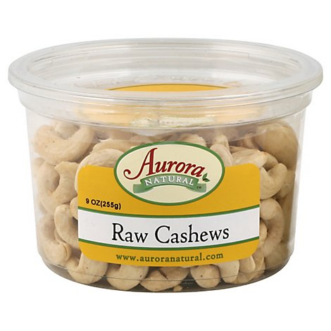 Aurora Raw Cashews - 9 OZ