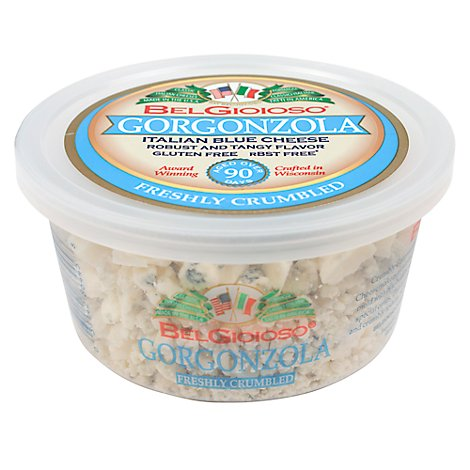 Belgioioso Crumbled Gorgonzola Cheese Cup - 5 OZ
