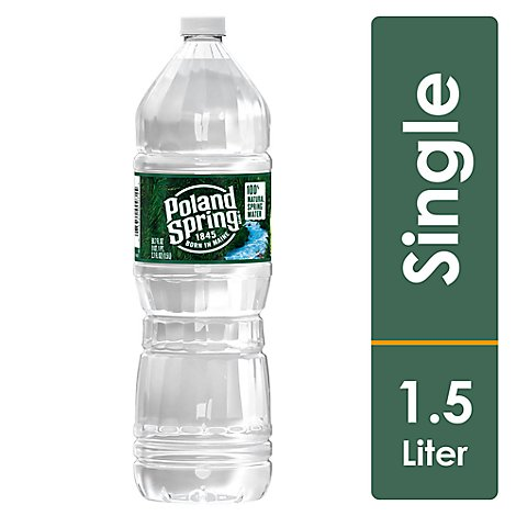 Poland Spring Natural Spring Water - 50.7 FZ