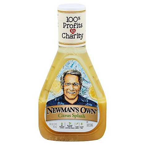Newmans Own Citrus Splash Salad Dressing - 16 FZ
