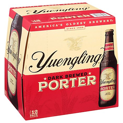 Yuengling Porter In The Bottles - 12-12 FZ