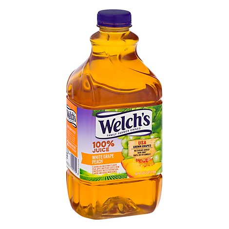 Welchs 100% White Grape And Peach Juice - 64 FZ