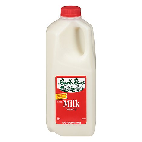 Booth Brothers Whole Milk 64 Oz - 64 FZ
