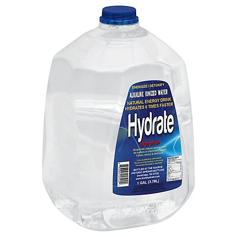 Hydrate Water High Ph Alkali - GA