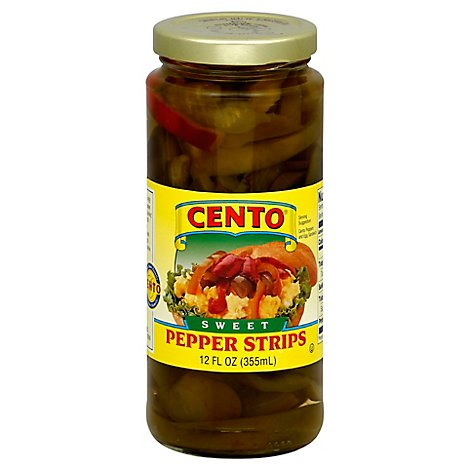 Cento Regular Sliced Sweet Pepper - 12 OZ