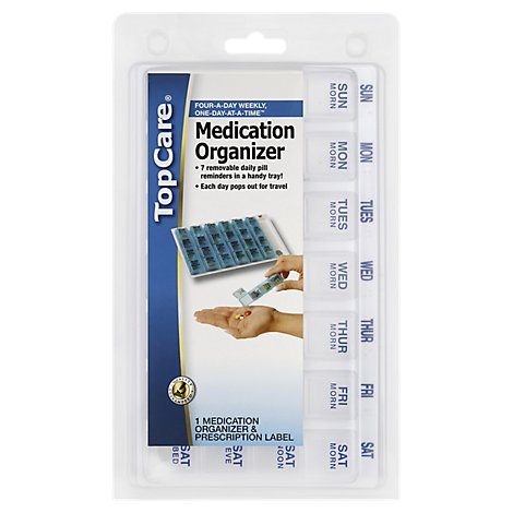 TopCare Medicine Organizer One Day At A Time Medium - Each