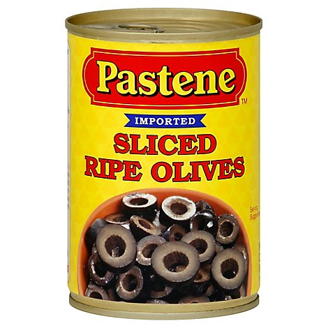 Pastene Olives Medium - 6 OZ