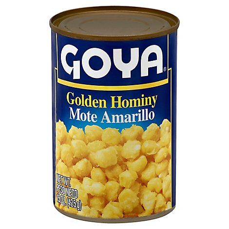 Golden Hominy 15 Oz - 15 OZ