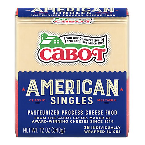 Cabot Amer Slice White - 12 OZ