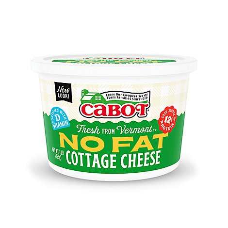 Cabot Regular Cottage Cheese No Fat - 16 OZ