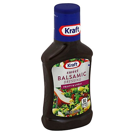 Kft Sweet Balsamic Dressing - 8 FO