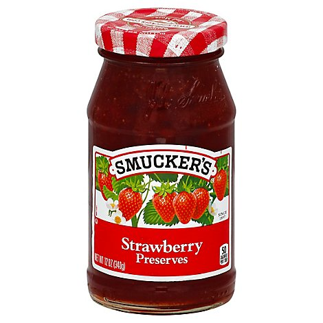 Smuckers Strawberry Preserves - 12 OZ