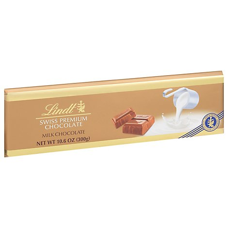 Lindt Swiss Milk Gold Bar - 10.6 OZ