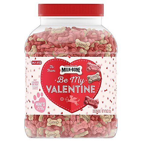 Milk Bone Valentines Minis Stacker - EA