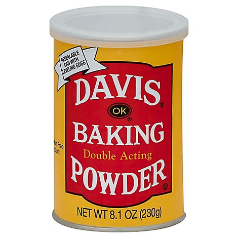 Davis Baking Powder - 8.1 OZ