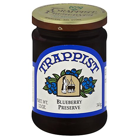 Trappist Preserves Blueberry - 12 OZ
