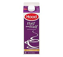 Hood Half And Half Ultra Pasteurized - 32 Fl. Oz.