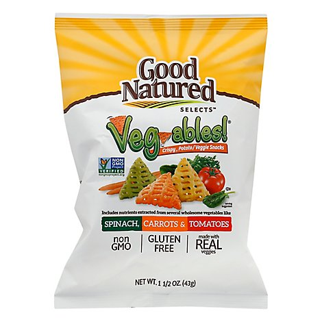 Herrs Spinach Carrot Tomato Veggie Chips - 1.5 OZ