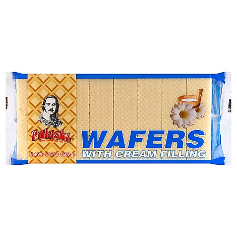 Pulaski Cream Wafers - 17.64 OZ