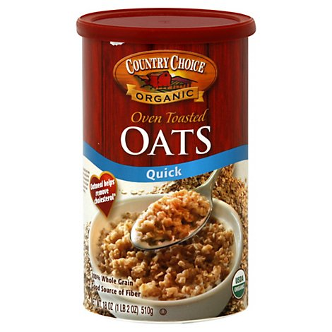 Country Choice Oven Toasted Oats - 18 OZ