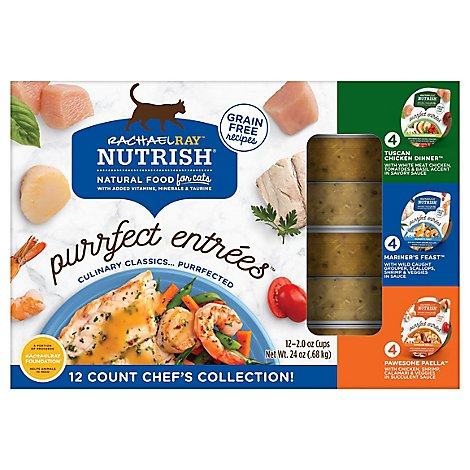 Rrn Purrfect Entrees Variety Pack - 12-2 OZ