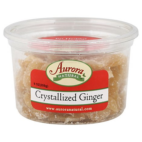 Aurora Ginger Slices - 9 OZ