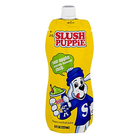 Slush Puppie Seasonal Drink In Pouch - 8 FZ