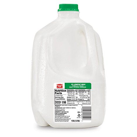 Meadow Gold Milk 1% Low Fat With Vitamin A and D - 1 Gallon