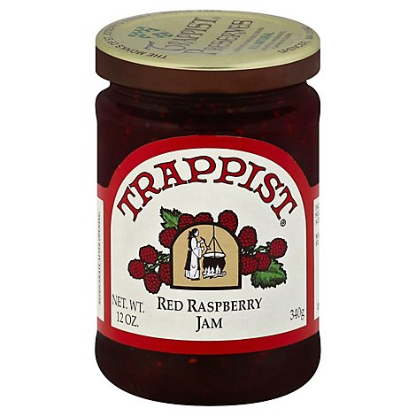 Trappist Jam Raspberry Red - 12 OZ