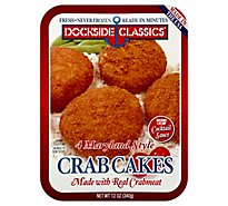 Dockside Maryland Style Crabcakes - 12 OZ