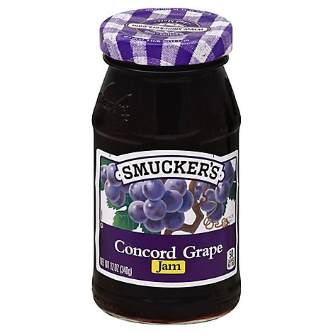 Smuckers Concord Grape Jam - 12 OZ