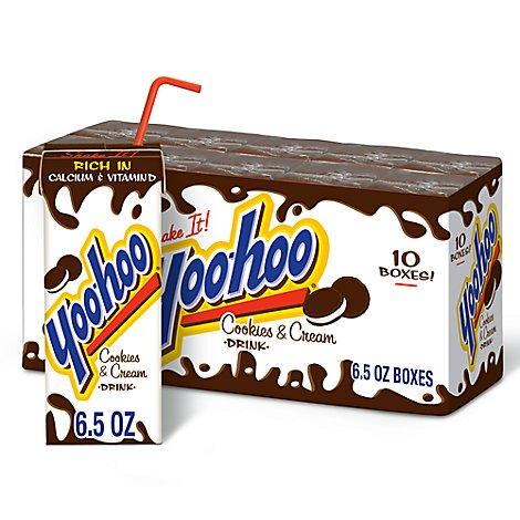 Yoo-hoo Cookies N Cream - 10-6.5 FZ