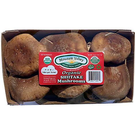 Mushrooms Shiitake Whole Organic - 5 OZ