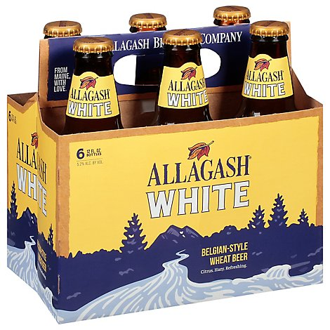 Allagash White In The Bottles - 6-12 FZ