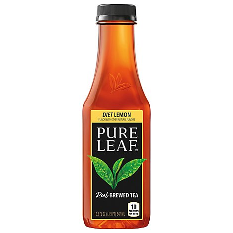 Pure Lf Dt Lemon Tea - 18.5 FZ