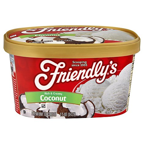 Friendlys Coconut Ice Cream - 1.5 QT
