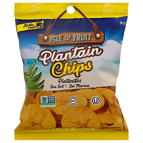 Isle Of Fruit Light Salted Plaintain - 2.5 OZ