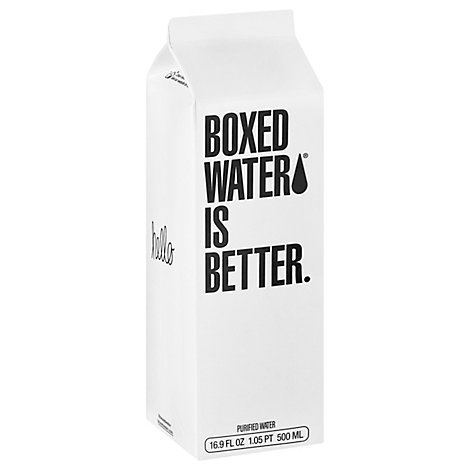 Boxed Water Is Better Purified Water - 16.9 FZ