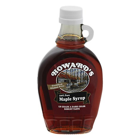 Howards Pure Maple Syrup - 8.5 FZ