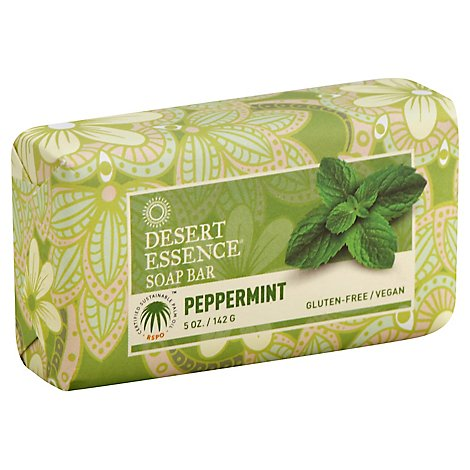 Desert Ess Soap Bar Peppermint - 5 OZ