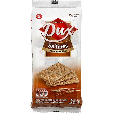 Dux Saltine Wheat Oat Bag - 7.62 OZ