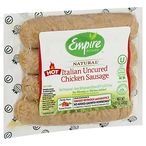 Empire Fully Cooked Italian Chicken Sausage - 12 OZ