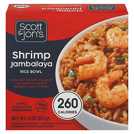 Cheating Gourmet Shrimp Jambalaya Rice Bowl - 8 OZ