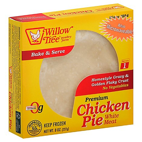 Willow Tree Chicken Pot Pie Frozen 8 Oz - 8 OZ
