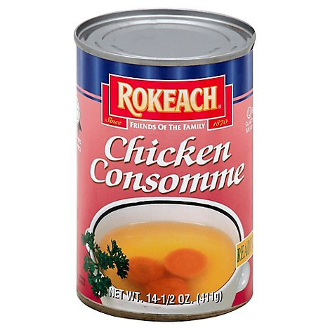 Rokeach Soup Consomme Chicke - 14.5 OZ