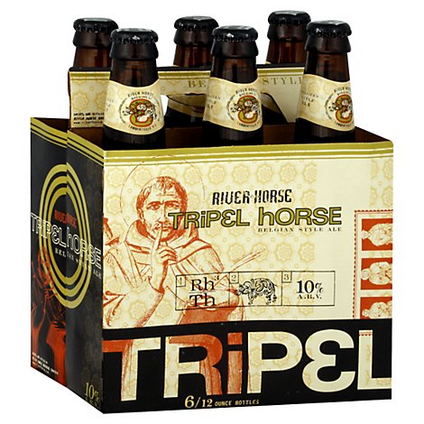 River Horse Tripel Horse Ale 6 Count Long Neck Bottles - 6-12 FZ