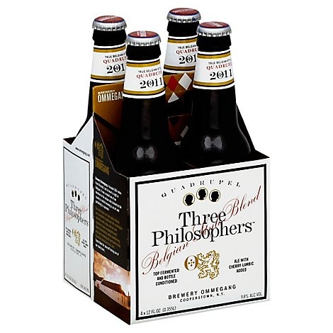 Ommegang Three Philosophers Bottles - 4-12 FZ