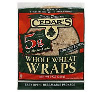 Cedar's Carb Low Whole Wheat Bread - 9 OZ
