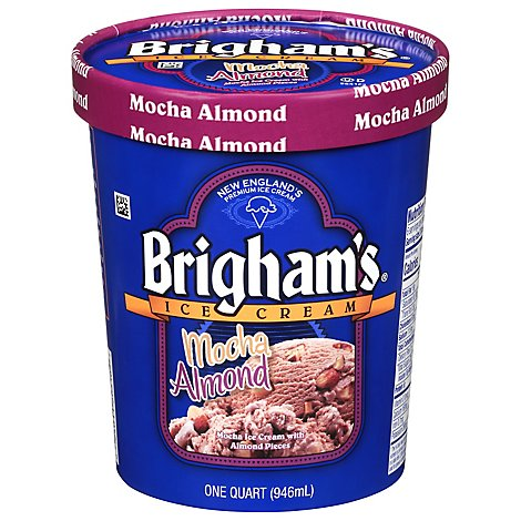 Brighams Almond Mocha - QT
