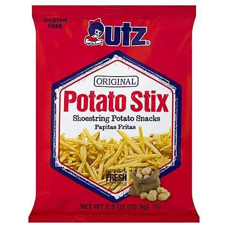 Utz Potato Stix Original Gluten Free - 2.5 Oz